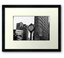 5th Avenue and the Flatiron Building Framed Print