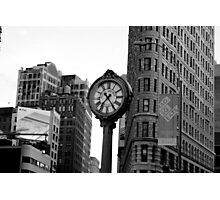 5th Avenue and the Flatiron Building Photographic Print
