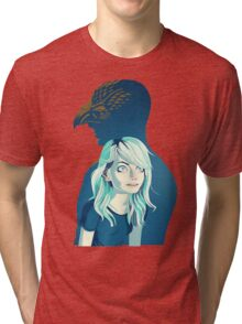 Birdman & daughter Tri-blend T-Shirt