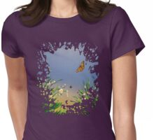 Butterfly Peace Womens Fitted T-Shirt