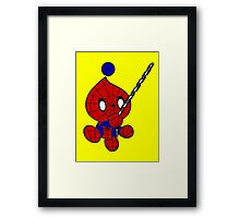 Spider Chao Framed Print