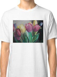 Rainbow of Tulips Classic T-Shirt