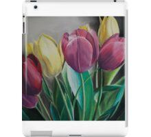 Rainbow of Tulips iPad Case/Skin
