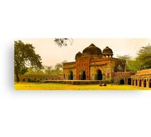 North India - Humayun's  tomb - New Delhi 7 Canvas Print