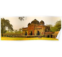 North India - Humayun's  tomb - New Delhi 7 Poster