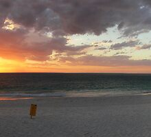 Sunset at Mullaloo Beach Western Australia by Reza2111