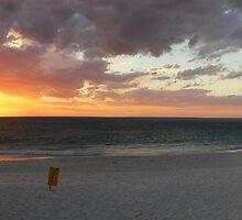 Sunset at Mullaloo Beach Western Australia by Reza2111