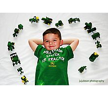 I Love John Deere Photographic Print