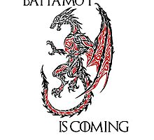 Bahamut Is Coming Photographic Print