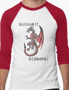 Bahamut Is Coming Men's Baseball ¾ T-Shirt