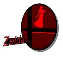 Smash Bros. Zelda Tag Photographic Print