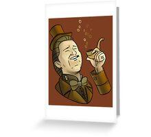 Fancy Data Greeting Card
