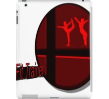Smash Bros. Wii Fit Trainer Tag iPad Case/Skin