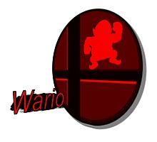 Smash Bros. Wario Tag Photographic Print