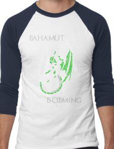 Bahamut Is Coming V2 Men's Baseball ¾ T-Shirt