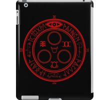 The Halo of the Sun (Red) iPad Case/Skin
