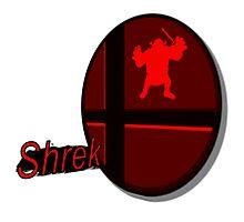 Smash Bros. Shrek Tag Photographic Print