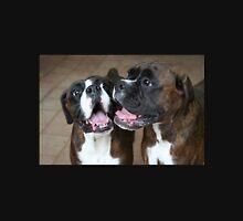 Luthien & Arwen -Boxer Dogs Series- Unisex T-Shirt