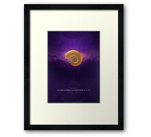 The Single Step from No to Yes Framed Print