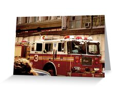 FDNY No. 3 Greeting Card