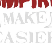 Sparkly vampires make better targets Sticker