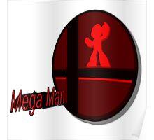 Smash Bros. Mega Man Tag Poster