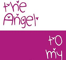 You're the Angel to my Buffy by fashprints