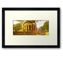 North India - Qutab Minar - New Delhi Framed Print