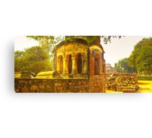 North India - Qutab Minar - New Delhi Canvas Print