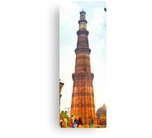 North India - Qutab Minar - New Delhi 2 Canvas Print
