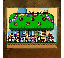 Super Mario World Photographic Print