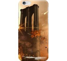 Th apocalypse in the city iPhone Case/Skin
