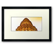 North India - Qutab Minar - New Delhi 4 Framed Print