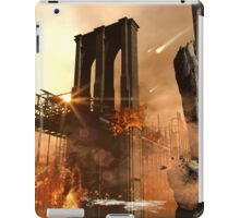 Th apocalypse in the city iPad Case/Skin