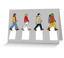 'ABBEY ROAD'  Greeting Card