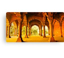North India - Red Fort - New Delhi 2 Canvas Print