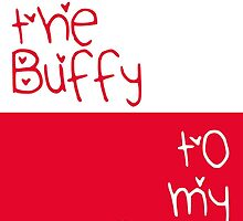 You're the Buffy to my Angel by fashprints