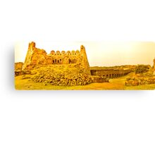 North India - Tughlaqabad Fort  - New Delhi 2 Canvas Print