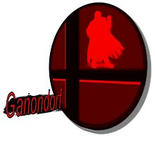 Smash Bros. Ganondorf Tag by goronmask