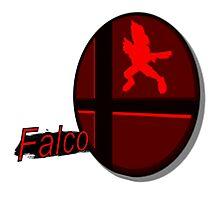 Smash Bros. Falco Tag Photographic Print
