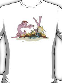 Vault Boy & Claws T-Shirt