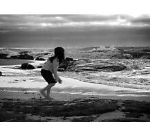 Nilu at the beach Photographic Print