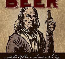 Ben Franklin's thoughts on Beer by rawline