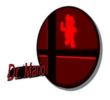 Smash Bros. Dr. Mario Tag Photographic Print