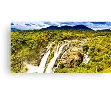South India - Jog Falls in the monsoon season - 2 Canvas Print