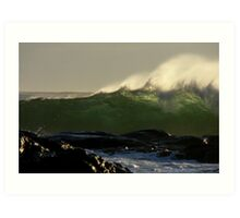 Waves01Margaret River Western Australia Art Print
