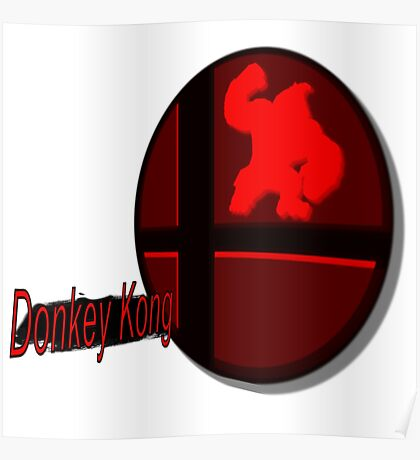 Smash Bros. Donkey Kong Tag Poster