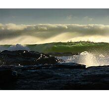 Waves 02 Margaret River Western Australia Photographic Print