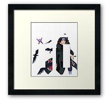 ITACHI T SHIRT 00 Framed Print