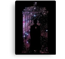 Dr. Who Canvas Print